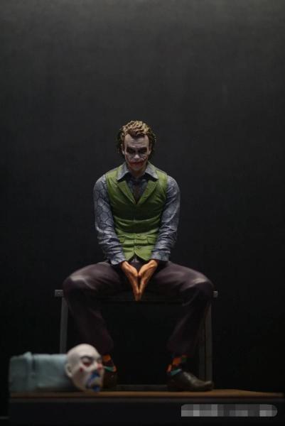 【In Stock】Hurricane Studio DC Heath Ledger Joker Resin Statue