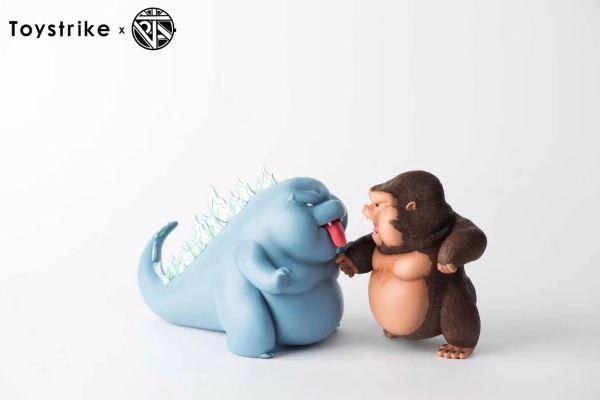 【Pre order】POP JAY Arts (Godzilla vs Kong)Ziboo vs.Kingboo Resin Statue Deposit