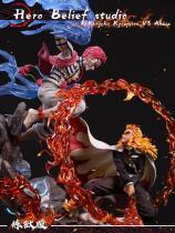 【Pre order】HeroBelief Studios Demon Slayer:Rengoku VS Akaza あかざ  Resin Statue Deposit