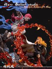 【Pre order】Hero Belief Studios Demon Slayer:Rengoku VS Akaza あかざ  Resin Statue Deposit