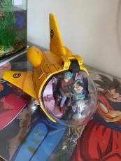 【In Stock】JacksDo Dragon Ball Z Bulma 991 Airship Resin Statue