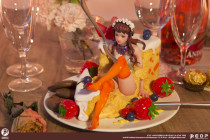 【In Stock】eopstudio The Cheese Girl Resin Statue