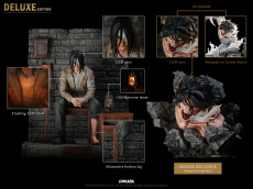 【Pre order】CHIKARA STUDIO Attack on Titan Eren Jaeger Resin Statue Deposit