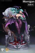 【Pre order】Hard Shell& Snake eyes CAPCOM Vampire Morrigan Aensland Resin Statue Deposit