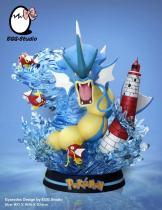 【Pre order】EGG Studio Pokemon  Rage of the Gyarados Resin Statue Deposit