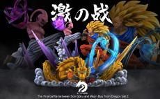 【Pre order】XT Studio Goku SSJ3 vs Buu 1:6 Scale Resin Statue Deposit