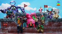 【Pre order】JacksDo Dragon Ball Z Red Ribbon Army Member Vol.2 Major Metallitron & Ninja Murasaki Resin Statue Deposit