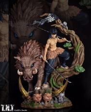 【Pre order】TNT Studio Demon Slayer: Kimetsu no Yaiba Hashibira Inosuke Resin Statue Deposit