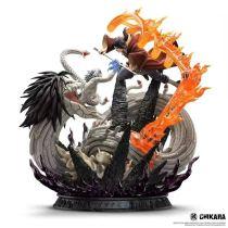 【Pre order】CHIKARA STUDIO Naruto IZANAMI: Kabuto(Sage) vs Itachi Uchiha(Edo tensei) Resin Statue Deposit