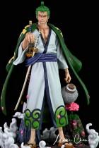 【In Stock】Dream Studio Anniversary One Piece Wano Zoro 1:4 Scale Resin Statue