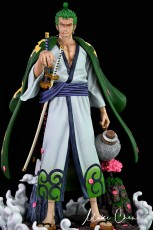 【In Stock】Dream Studio Anniversary One Piece Wano Zoro 1:4 Scale Resin Statue