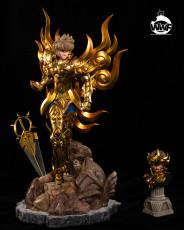 【Pre order】WWF Studio Saint Seiya Saint cloth myth Leo Aiolia 1:6 Scale Resin Statue Deposit