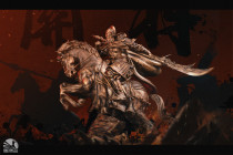 【Pre order】Infinity Studio Design Series 1/7 Three-Kingdoms Generals- Guan Yu Bronzed Resin Statue Deposit(Copyright)