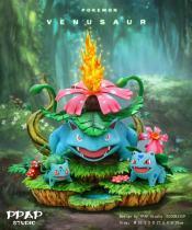 【Pre order】PPAP Studio Pokemon Venusaur Family Resin Statue Deposit
