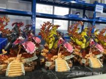 【In Stock】ER ZHOU MU Studio Pokemon Iris top of the Pokémon League Resin Statue