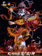 【Preorder】CHENG STUDIO & JacksDo Demon Slayer Kamado Tanjuurou in Fire Dance Resin Statue Deposit