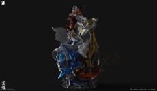 【Pre order】Last Sleep Studio One-Piece the Three Admirals Navy Resin Statue Deposit