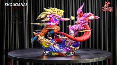 【Pre order】KD Collectibles Dragon Ball Z Super Goku SSJ3 VS Janenba 1/4 Scale Resin Statue Deposit