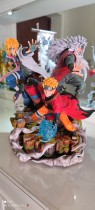 【In Stock】CW&Surge Studio Naruto Predestination Naruto&Jiraya&Namikaze Minato 1:7 Resin Statue