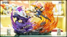 【In Stock】JacksDo One Piece Issho VS Sabo Resin Statue