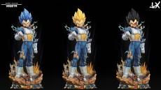 【Pre order】LX Studio Dragon Ball Super Saiyan Vegeta Life Size+Bust Resin Statue Deposit