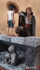 【Pre order】Legendary Studio One-Piece Shanks and Luffy Resin Statue Deposit