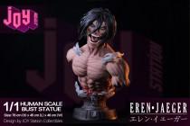 【Pre order】JOY Station collection Attack on Titan Eren Jaeger & Shingeki no kyojin Bust Resin Statue Deposit