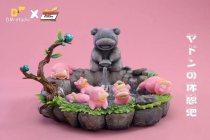 【Pre order】DM Studio Pokemon Slowpoke in Hot Spring Resin Statue Deposit