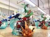 【In Stock】Crescent-Studio Pokemon Rayquaza Kyogre Groudon Resin Statue