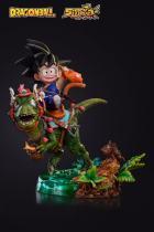 【Pre order】Shock Wave Studio Dragon Ball Z The Childhood Goku Riding Dragon Statue Deposit