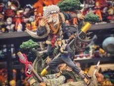 【In Stock】Clouds Studio Hokages Resonance Series No.3 Sarutobi Hiruzen Resin Statue
