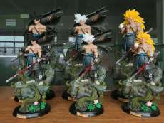 【In Stock】 Blue sky Studio Dragon Ball Z Samurai Goku Resin Statue