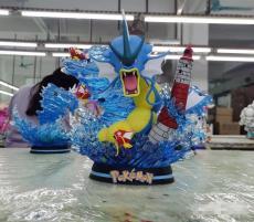 【In Stock】EGG Studio Pokemon  Rage of the Gyarados Resin Statue