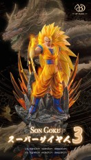 【Pre order】BY Studio Dragon Ball Z Super Goku SSJ3 Resin Statue Deposit