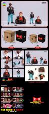 【In Stock】JacksDo Dragon Ball Z Red Ribbon Army Member Vol.1Commander Red & Staff Officer Black Resin Statue