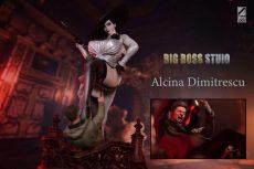 【Pre order】BIG BOSS STUDIO Resident Evil Village Alcina Dimitrescu 1:4 Scale Resin Statue Deposit
