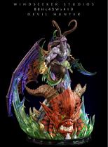 【Pre order】Windseeker Studio Demon Hunter Illidan Stormrage 1/4 Resin Statue Deposit