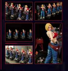 【Pre order】epoch studios KING OF FIGHTERS Blue Mary Resin Statue Deposit(Copyright)