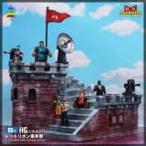 【Pre order】JacksDo Dragon Ball Z Red Ribbon Army Headquarters Resin Statue Deposit