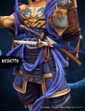 【Pre order】LK&MIC Studio Dragon Ball Samurai Vegetto 1/7 Resin Statue Deposit