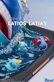 【Pre order】Pc House Pokemon Latios Latias Resin Statue Deposit